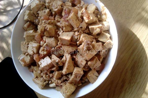 番茄老豆腐小炒肉
