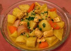 咖喱薯炆鸡