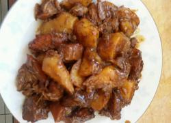 土豆煨牛肉