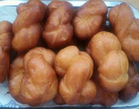 台式麻花面包