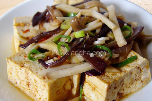 厚生厨房豆腐鲜菇