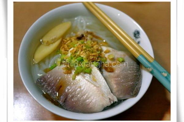 虱目鱼肚米粉汤