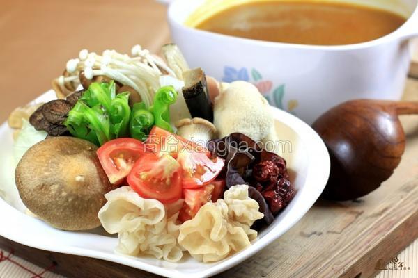 养生咖哩菇锅