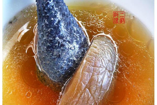 脆瓜乌骨鸡汤