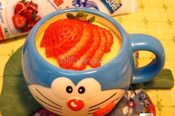 姜汁炖奶蛋