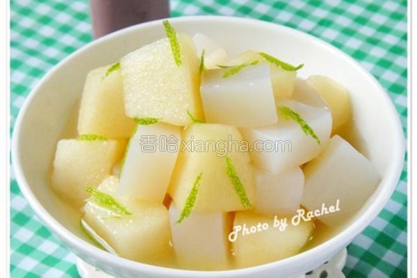 柠檬蜂蜜魔芋苹果
