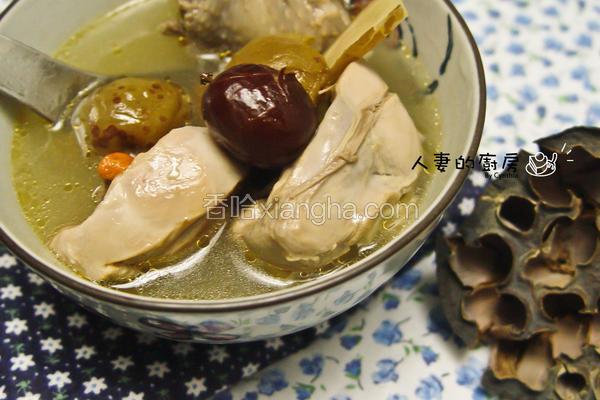 紫苏梅鸡汤