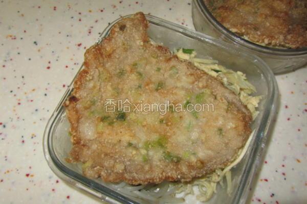 香葱蒜肉排