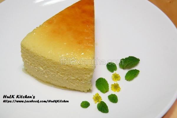 蜂蜜轻乳酪蛋糕
