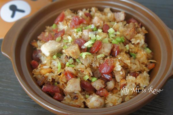 芋头腊肠糯米饭