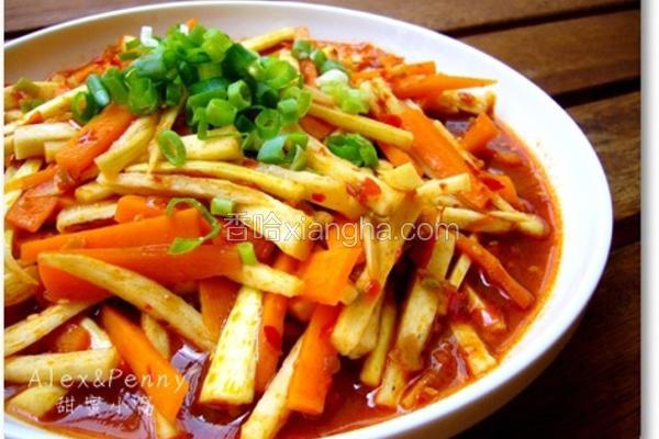 辣豆瓣茭白笋