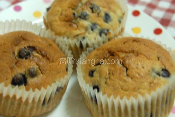 蓝莓香蕉酸奶玛芬