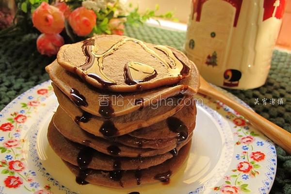 巧克力煎饼的做法