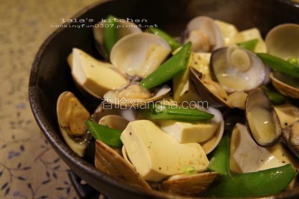 白酒蒸蛤蛎豆腐
