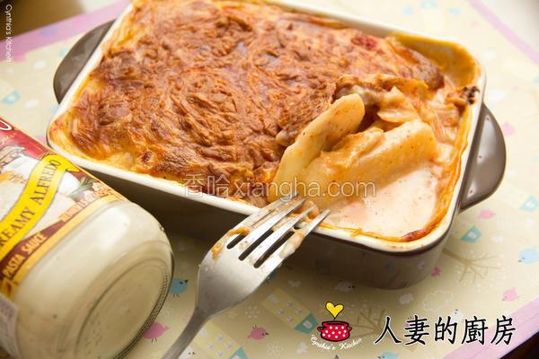 白酱烤泡菜马铃薯