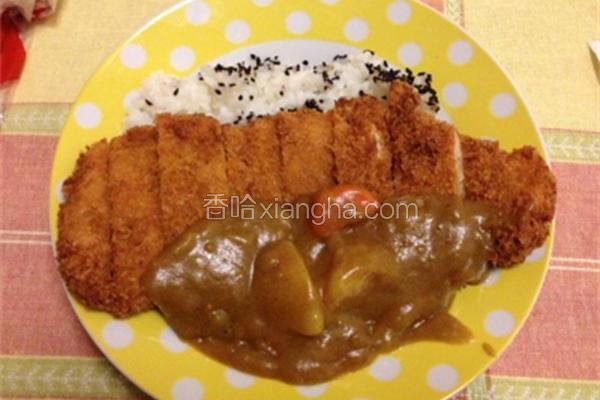 日式咖喱炸猪排
