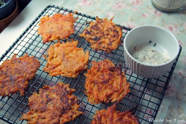 南瓜番薯脆煎饼