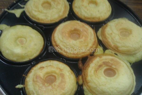 甜甜圈松饼