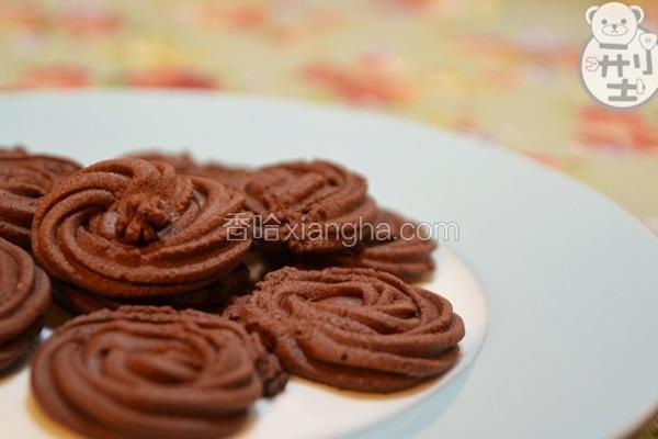 手工巧克力饼干