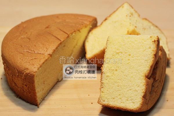 日式海绵鸡蛋糕