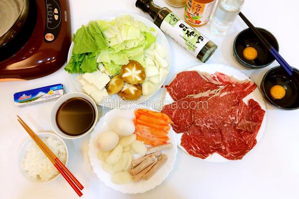 日式寿喜烧