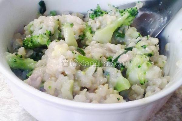 蔬菜糙米豆浆炖饭
