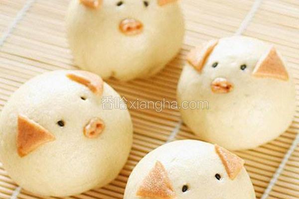 豆沙猪宝宝