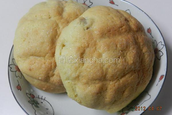 蔓越梅波萝面包