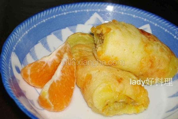 蜜柑松饼卷
