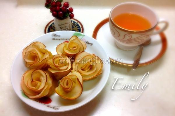 苹果玫瑰花小甜点的做法