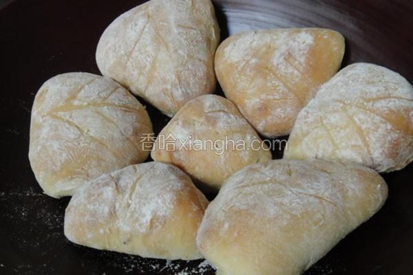 牛奶法国面包