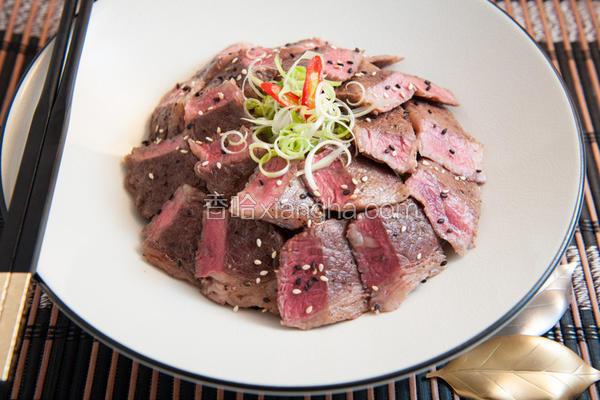 牛小排丼饭