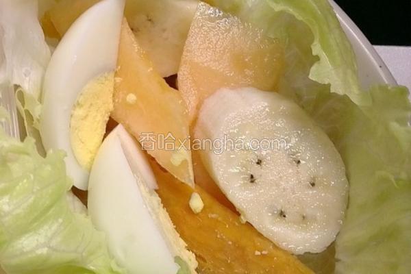 蔬果生菜卷