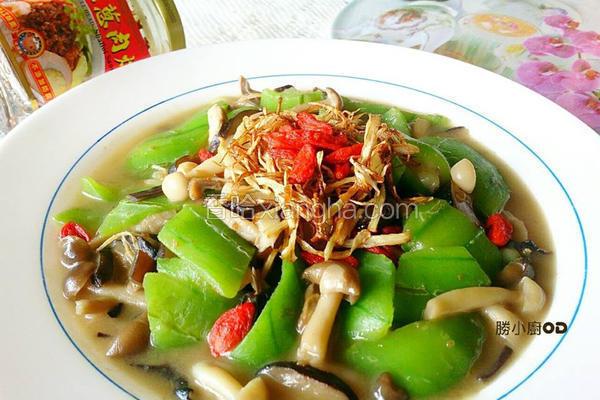 佰菇烩丝瓜