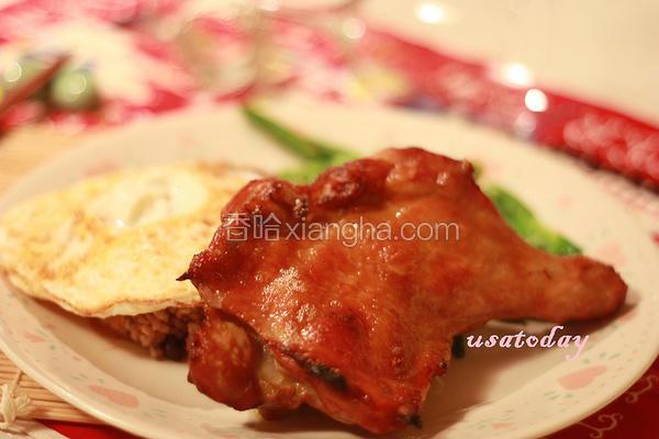 步泰式烤鸡