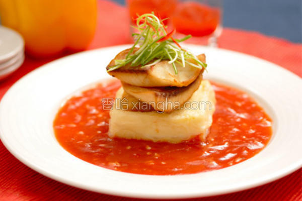 番茄黄金鱼片