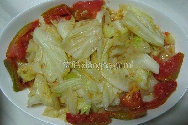 番茄高丽菜