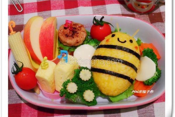 小蜜蜂南瓜饭饭