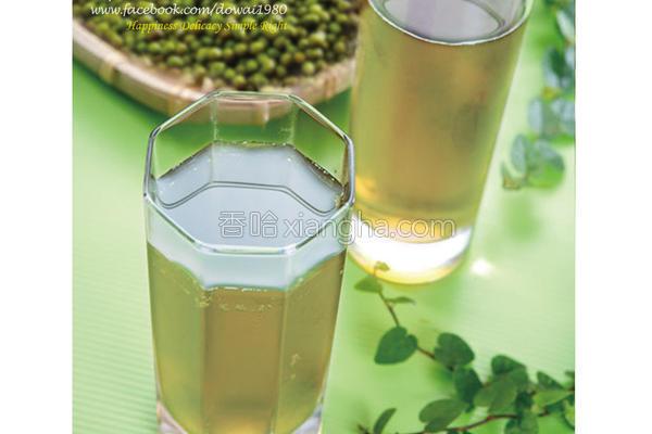 绿豆水的做法