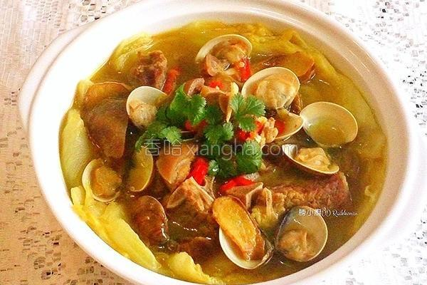 咖哩鱼羊锅