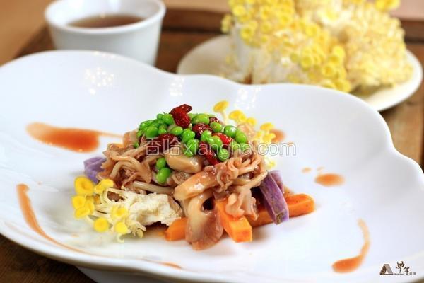 豆豆茶香菇