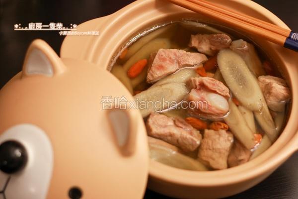 牛蒡排骨清汤