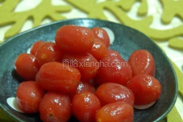 梅渍小番茄