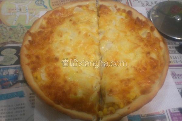 五辛素披萨