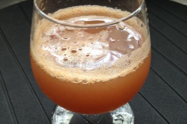葡萄柳橙汁的做法