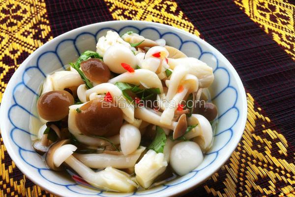 泰式凉拌双菇