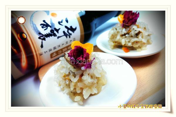 玫瑰糯米虾