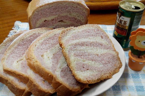 斑马纹面包