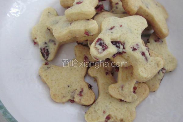 蔓越莓飞机饼干