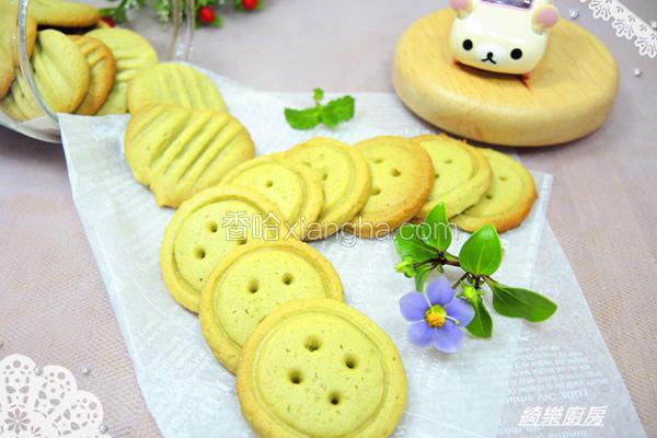 抹茶欧蕾饼干